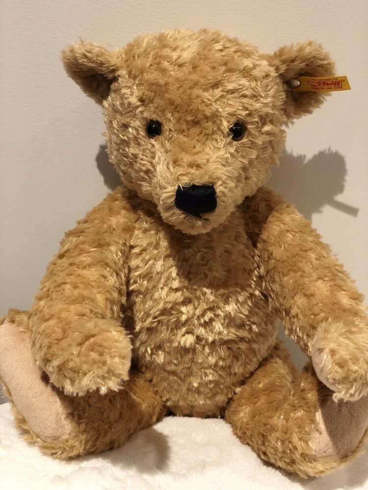 soft cuddly jointed plush teddy Steiff Hannes Bear EAN 022586 32cm