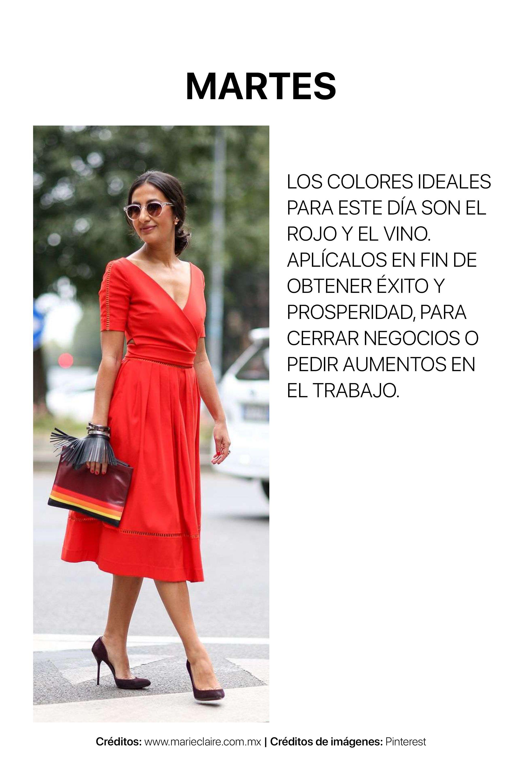 Vestido negro con chaleco rojo