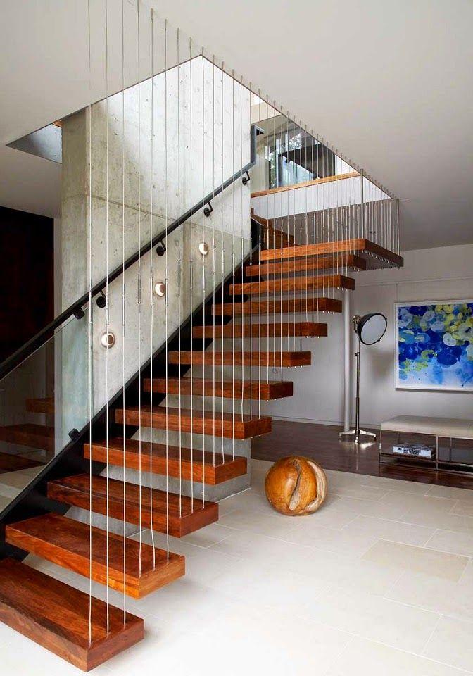 escaleras casa arco sostenible new york