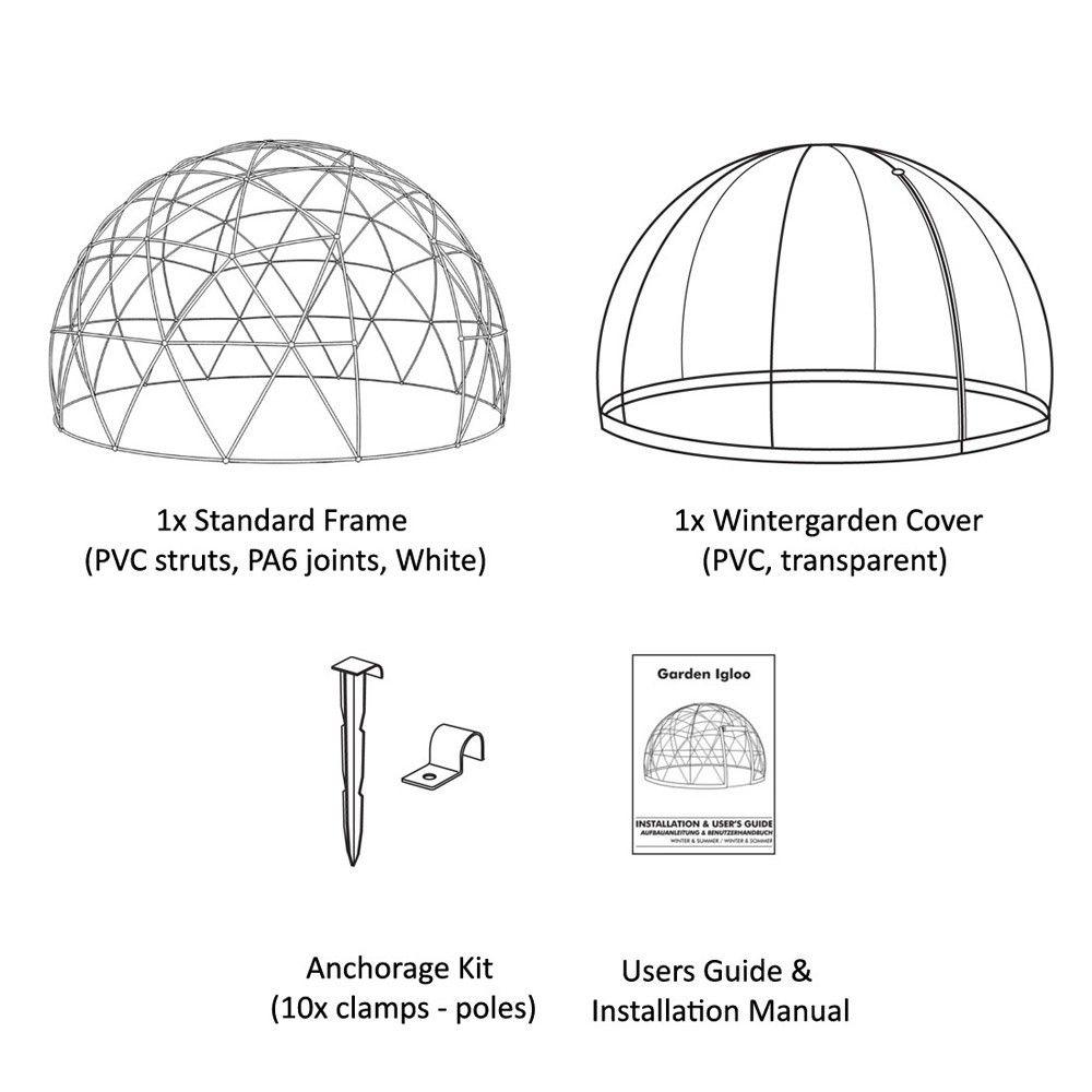 garden igloo 360 dome garden furniture pinterest garden