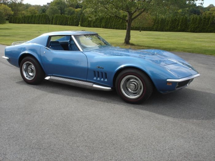 1969 corvette 427 tri-power for sale
