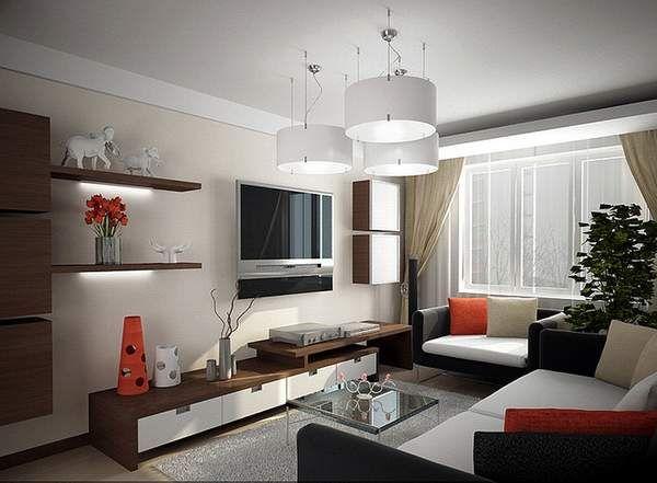 Как расставить мебель в однокомнатной квартире: 35 фото ...