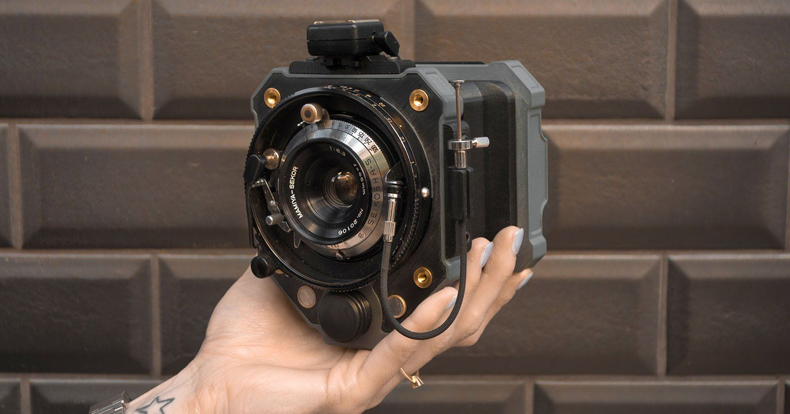 Goodman One Is An Open Source 3d Printed Analog Camera Digital