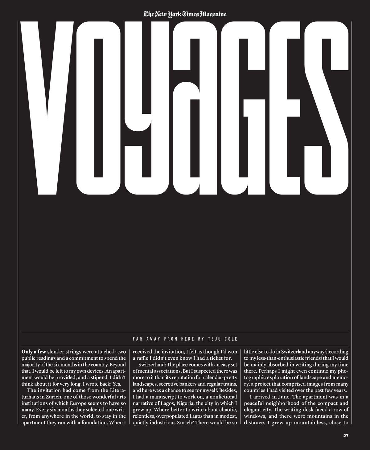new york times magazine essay