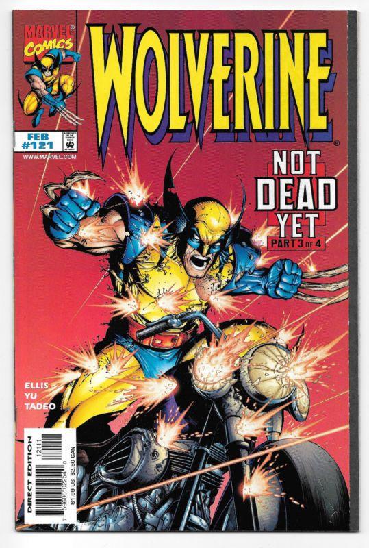 Wolverine 121 Marvel Comics Not Dead Yet Part 3 Nowhere To Run X Men Wolverine Comic Art Wolverine Comic Marvel Comic Character