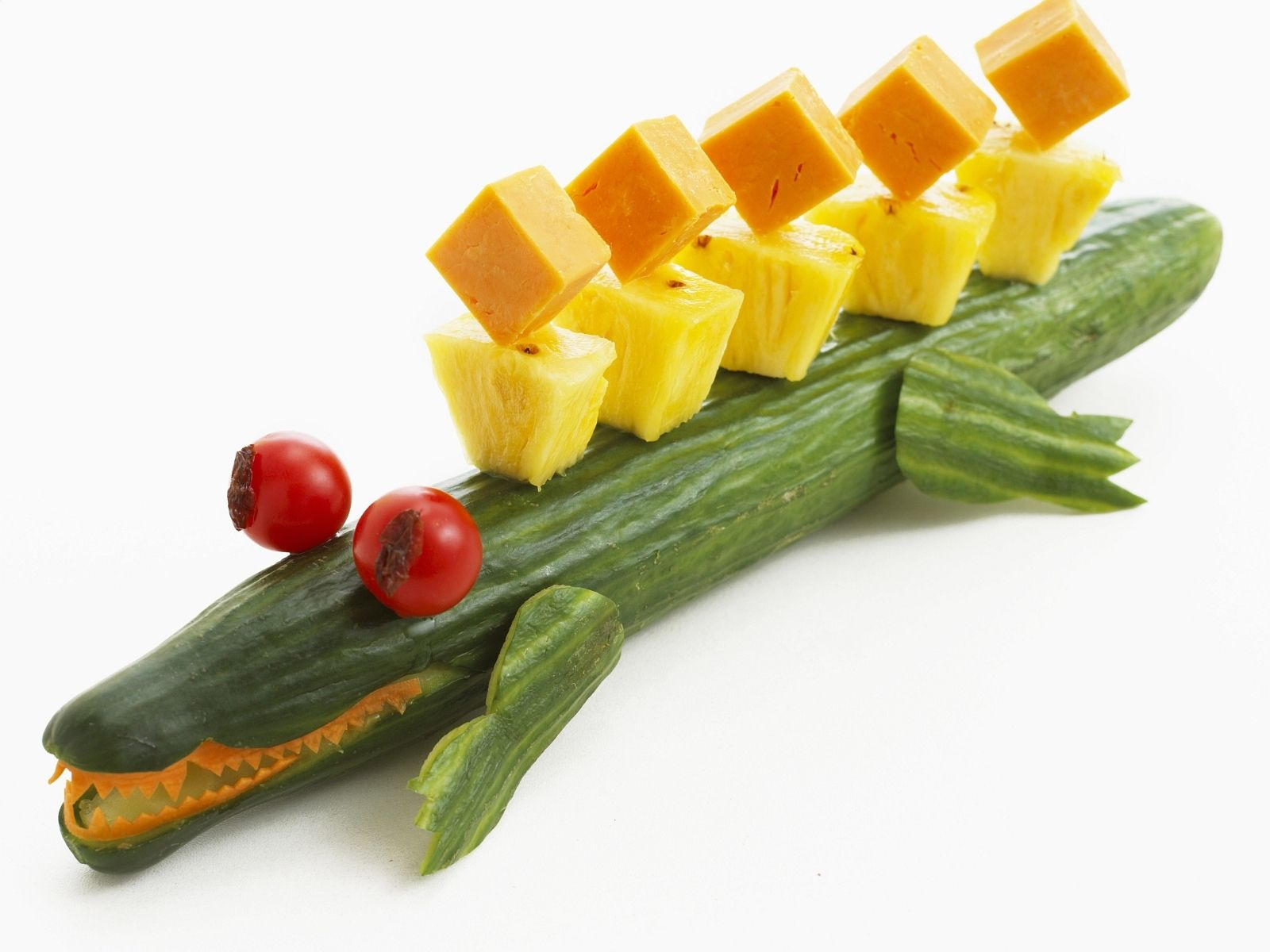 salatgurke mit ananas und k sew rfeln rezept kindergeburtstag pinterest salat. Black Bedroom Furniture Sets. Home Design Ideas