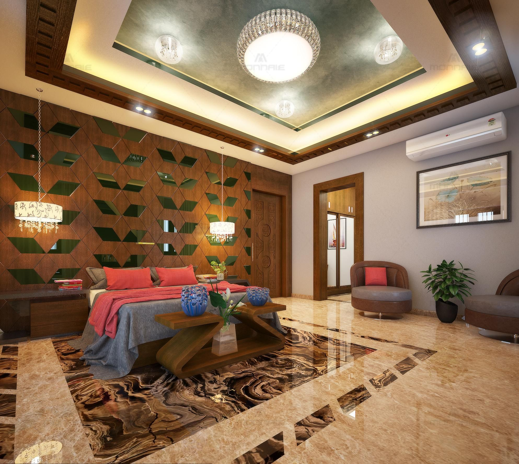 Contemporary design by monnaie architects interiors