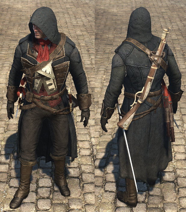 Assassin S Creed Rogue Arno Outfit Assassins Creed Rogue