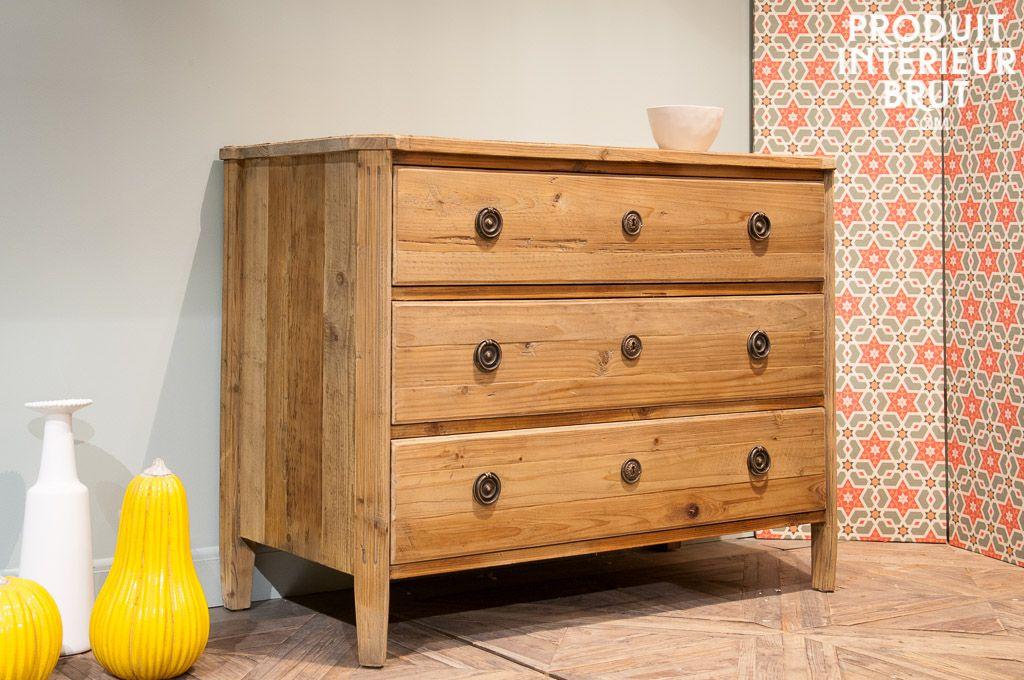 commode en bois sonia commodes. Black Bedroom Furniture Sets. Home Design Ideas