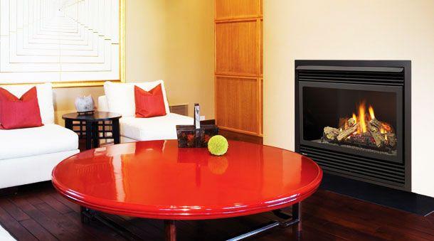 Gas Fireplace from Regency - medium sized!