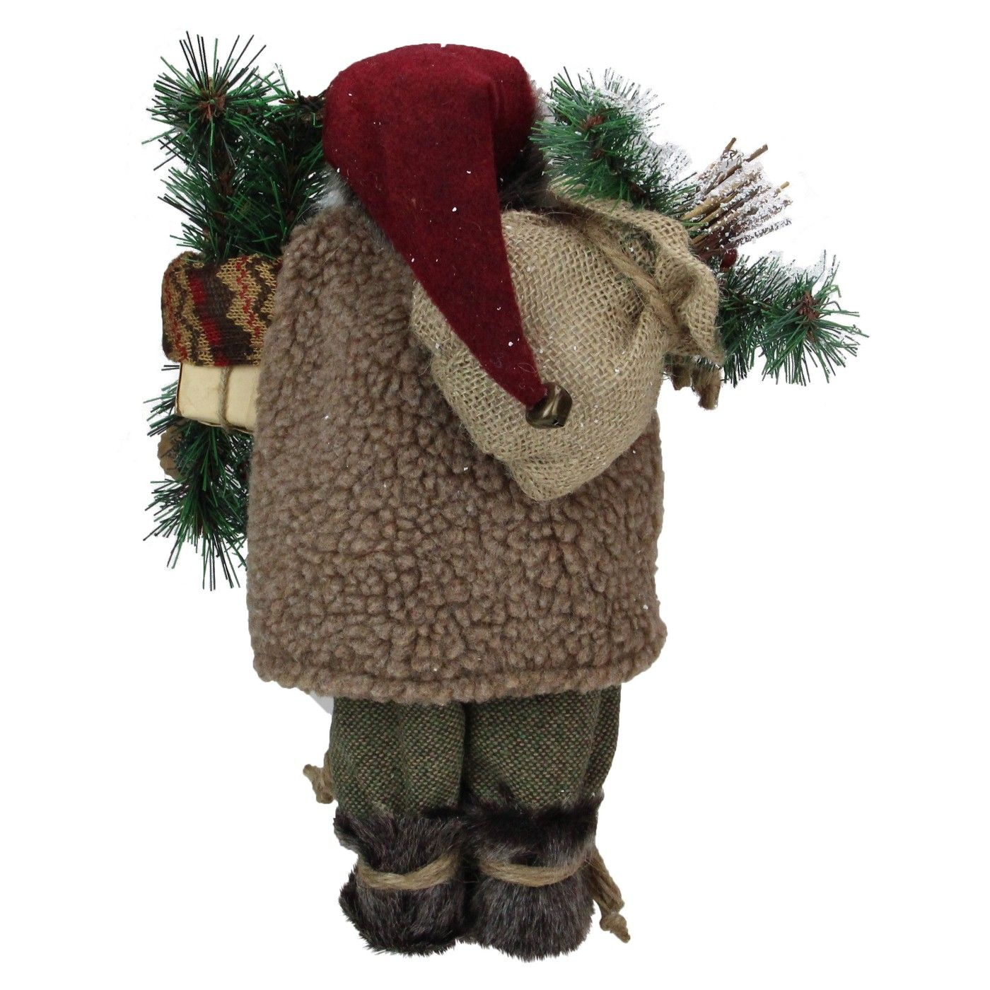 Northlight 12 Country Rustic Standing Santa Claus Christmas Figure Affiliate Country Ad Rustic Northlight Rustic Country Christmas Santa Claus