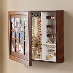 picture frame jewelry box Google Search For the Home Pinterest