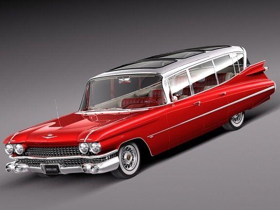 A beautiful reuse of a 1959 Cadillac ambulance!