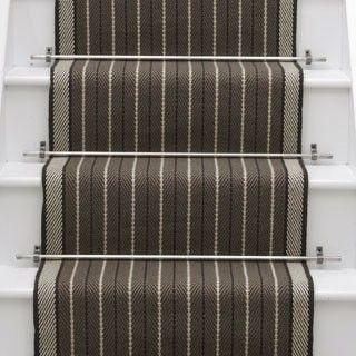 Best Denby Border Smoke Stair Runner Carpet Carpet Stairs 640 x 480