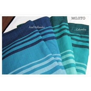Girasol Mojito, azul hollandes and Columbia