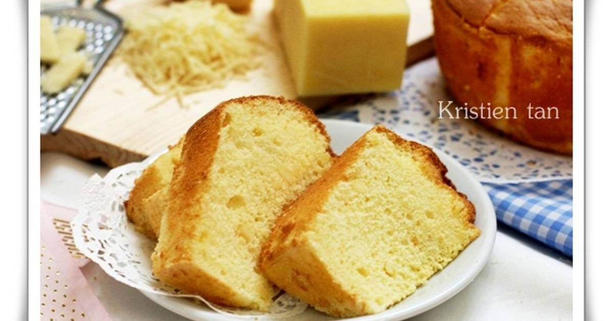 Resep Cream Cheese Chiffon Cake Enak Rich Oleh Tintin Rayner Resep Kue Chiffon Resep Keju Krim