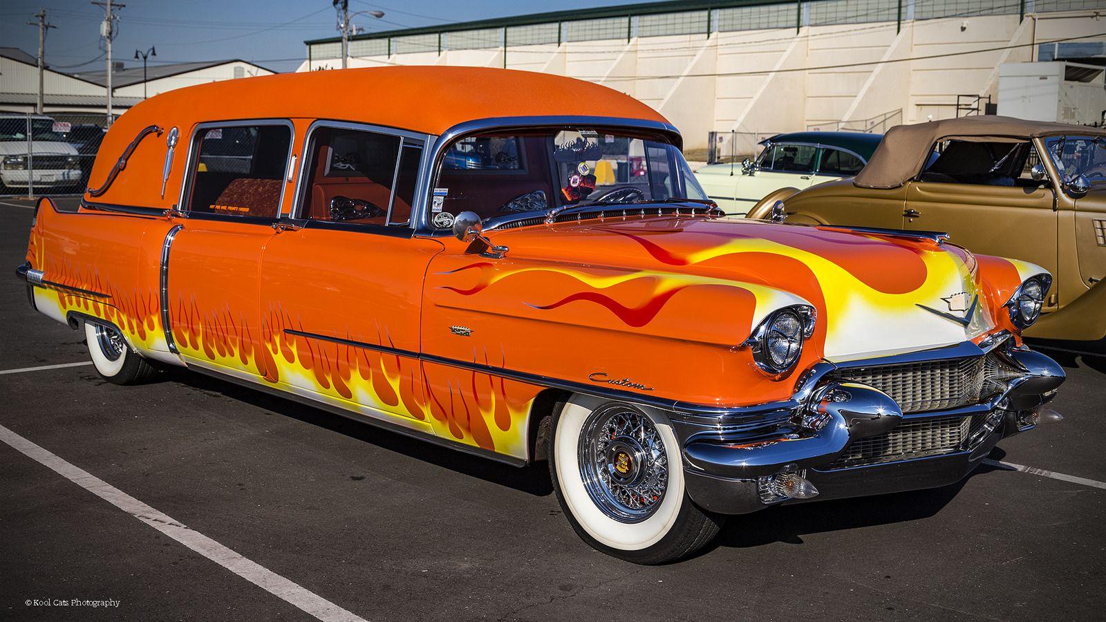 https://flic.kr/p/SvrHf5 | The Hearse | Custom Cadillac Hearse at the 2017 Southwest Hot Rod Nationals in Oklahoma City.