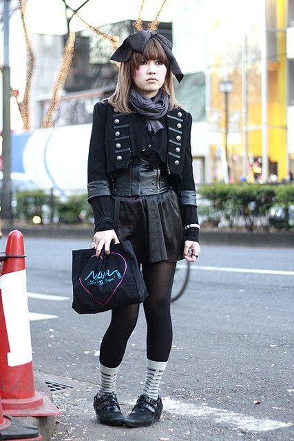 Oh Japanese Street Fashion, how I love you.