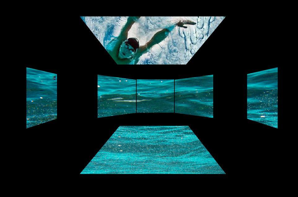 7 Screen Experience By Kanyewest Cruelsummer Donda Creative Company Kanye West New Art