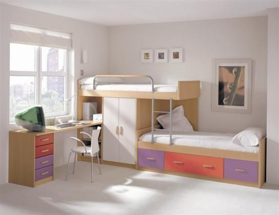 Modelos de camarotes para ni os imagui dormitorio for Recamaras pequenas para ninos