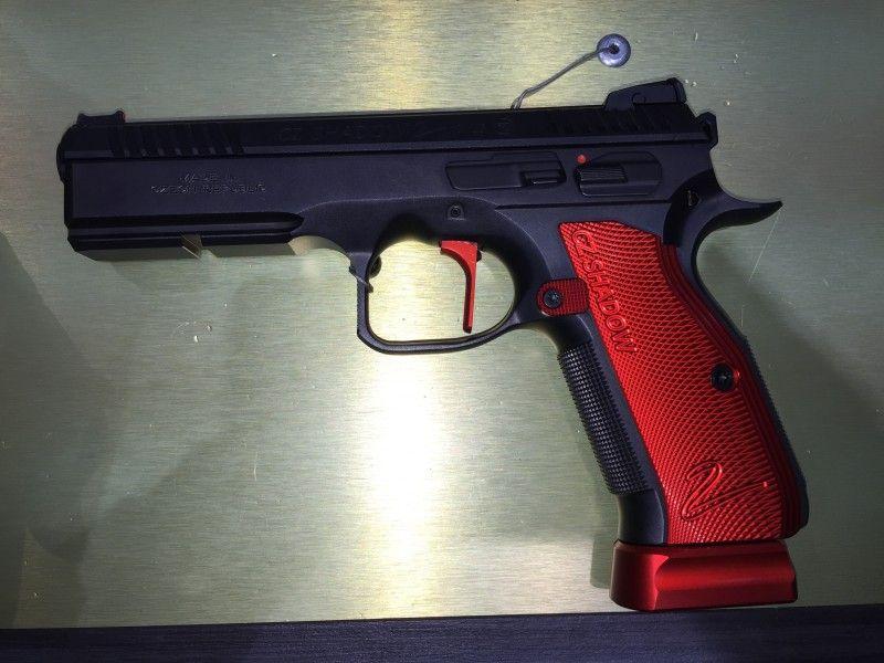 IWA 2016: CZ Shadow 2 Selbstladepistole | cz pistols | Guns, Hand