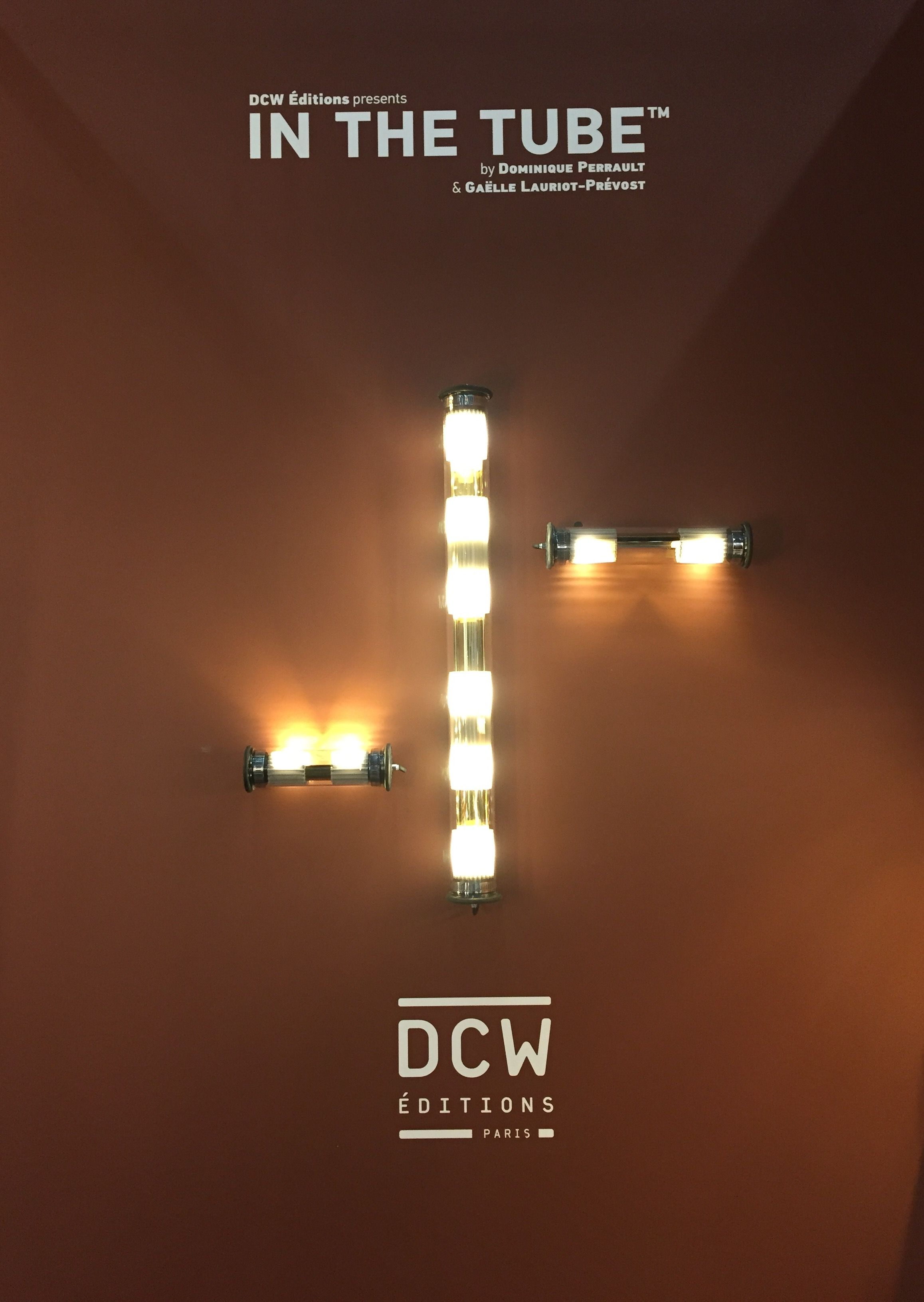 in the tube lamps edited by dcw ditions at stockholm furniture light fair february 2016. Black Bedroom Furniture Sets. Home Design Ideas