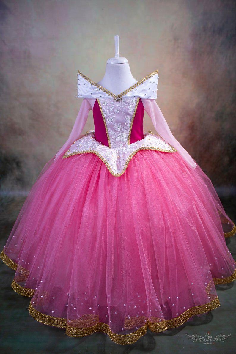 Photo of Princess Aurora Dress, Sleeping Beauty dress for Birthday, Disney Inspired Princess Gown, Maleficent