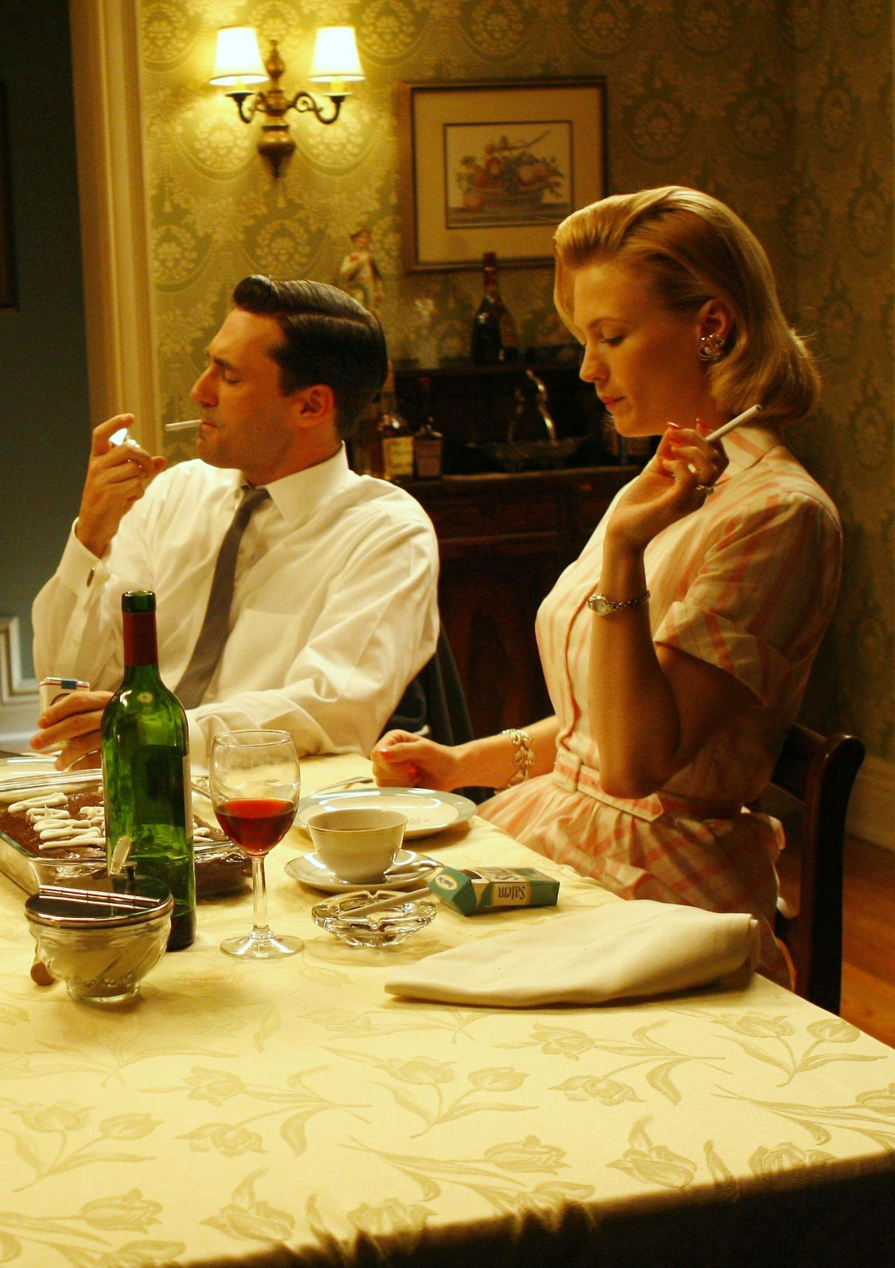 Mad Men....The Dinner Table of Don & Betty Draper Plus | Betty ...