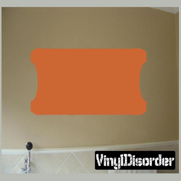 Custom Shape Wall Decal - Vinyl Decal - Car Decal - Sticker Shape - NS098