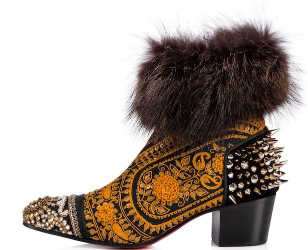 ee308c5da114 The Colorful Louboutin Collaboration with Indian Designer Sabyasachi ...