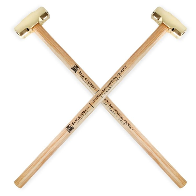 Gold Plated Ceremonial Sledgehammer