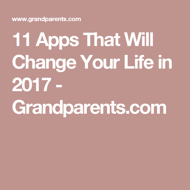 11 apps that will change your life App, Iphone apps, Life