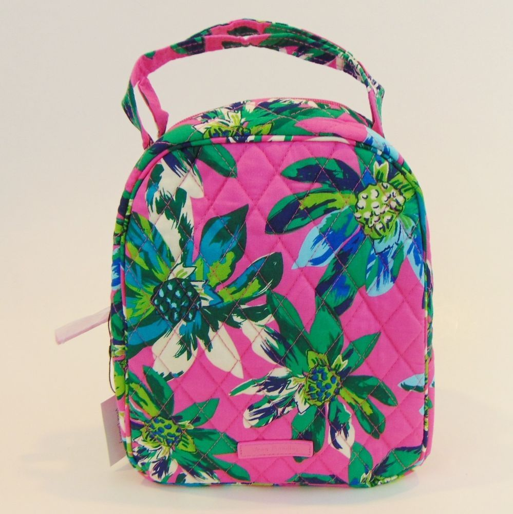 0f0a96ffb VERA BRADLEY LUNCH BUNCH Insulated Bag in TROPICAL PARADISE Tote # VeraBradley #Tote