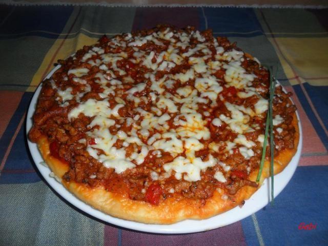 Pizza Boloñesa Recetas De Pizza Boloñesa Receta Recetas De Comida