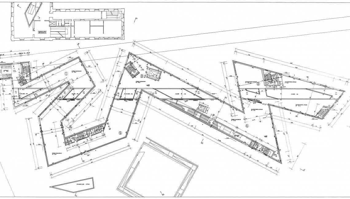Architecture Drawing Museum Berlin jewish museum berlin - libeskind | plans | pinterest | jewish