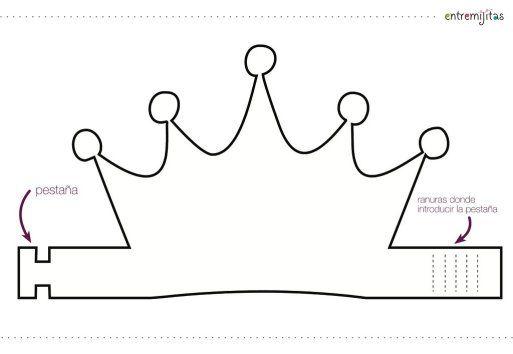 Ideas con goma eva para cumpleaños: coronas para convertirles en ...