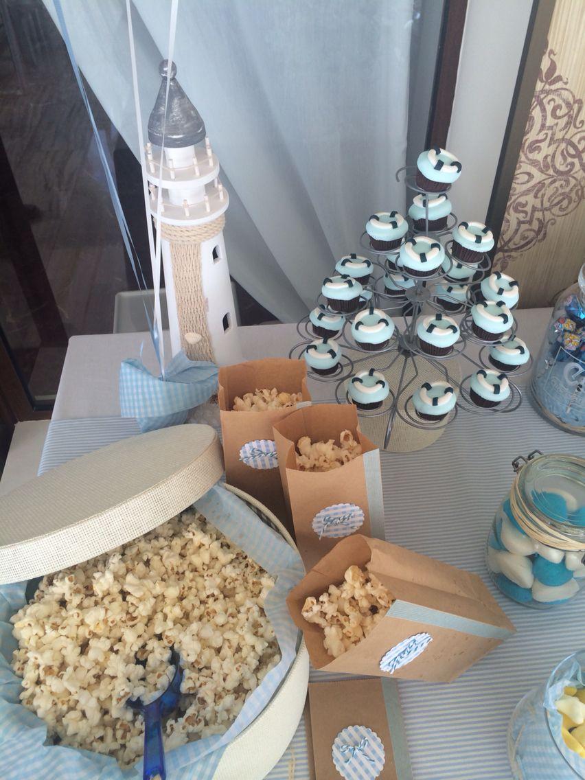 Detalles mesa dulce marinera candy bar dulces en bodas for Mesa dulce marinera