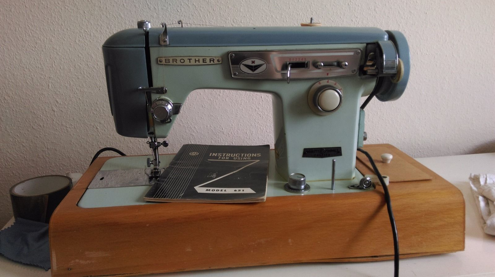 Vintage Brother Electric Sewing Machine | eBay | Sewing ...