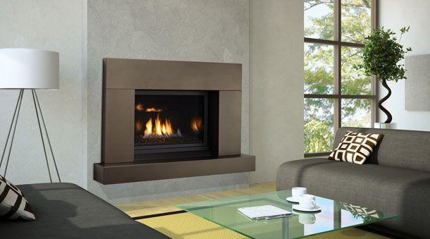 Modern Architecture Fireplace Regency Horizon Hz33ce