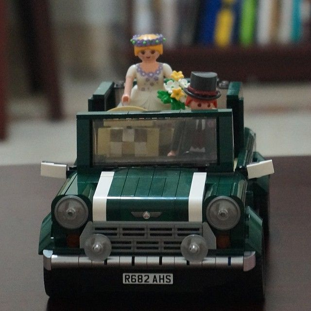 #Lego #minicooper #weddingcar #playmobil #신행가는중 ...