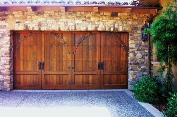 Wood Garage Door Photo Gallery OKC | Trotter Overhead Door