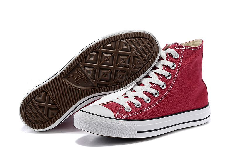 18acb84af946 #converse Converse Wine Red High Tops Classic Chuck Taylor All Star Womens  Shoes