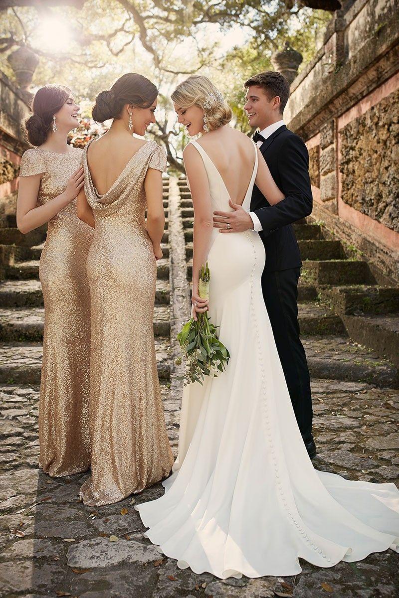 Modern Classic Wedding Dress by | Hochzeitskleid modern ...