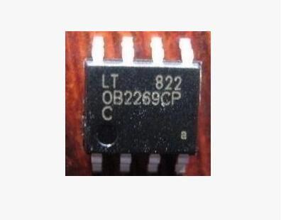 10PCS free shipping OB2269CP OB2269 LCD power chip SOP-8 IC - free sop