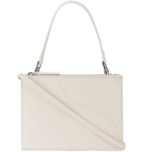 Atp Atelier Off White Lucca Shoulder Bag 110 Liked On Polyvore Featuring Bags