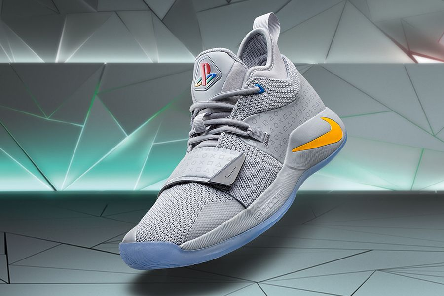 official photos 4a748 bbfb8 Paul George is Ready to Game with New Nike PlayStation ...