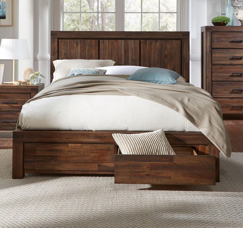 King Bed Modus furniture, Storage bed, Platform bed with