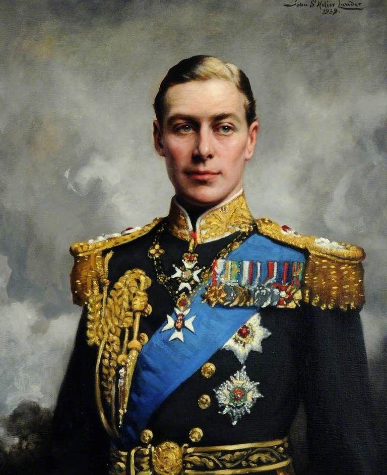 John Saint-Helier Lander (1869-1944) — His Majesty King George VI, 1939   :  Jersey Museum and Art Gallery,  Jersey.   UK (768x944)