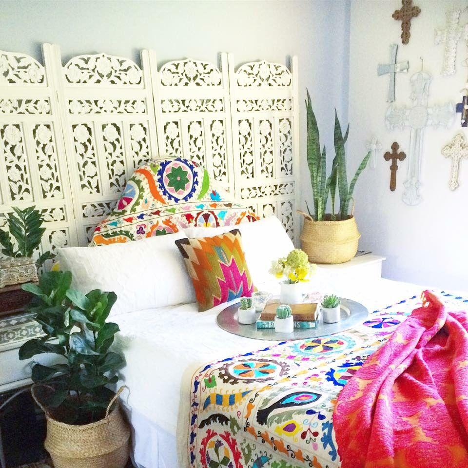 Summer Vibes Suzani Bedroom Home Boho Bohemian Bedding Goldcoast