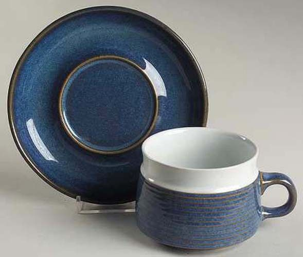 Chatsworth by Denby England Cup \u0026 Saucer & Chatsworth by Denby England Cup \u0026 Saucer   Denby Pottery England ...